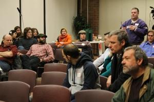 Tim Beckwith speaks to the panel/Jordan Martinez