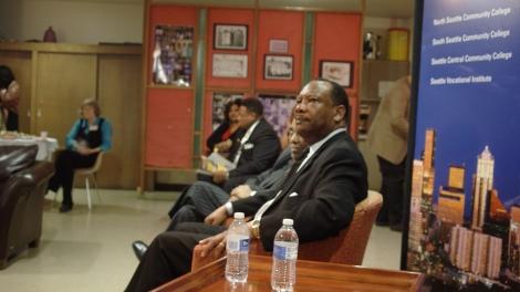 Jim Lucas & Rev. Dr. Samuel Berrytake questions post-event/NCC