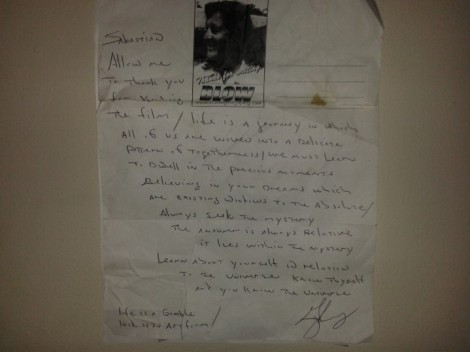 Letter from George Jung/NCC