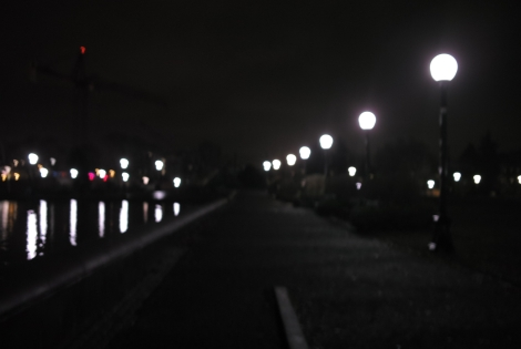 Cal Anderson Park after dark/NCC