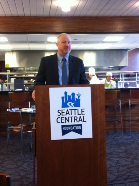 Mayor Mike McGinn. Photograph by Alexander M. Koch.