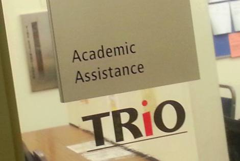Entrance to SCCC TRIO Office (Photo by Wayne Rocque)